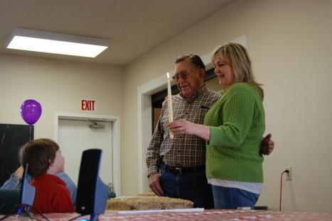 Grandpa Fay's 80th Birthday