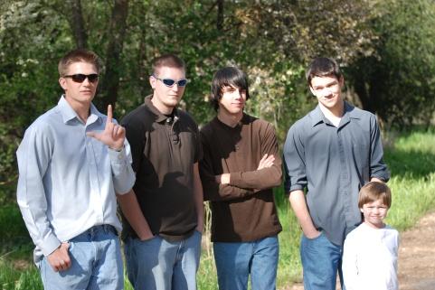 The boys…