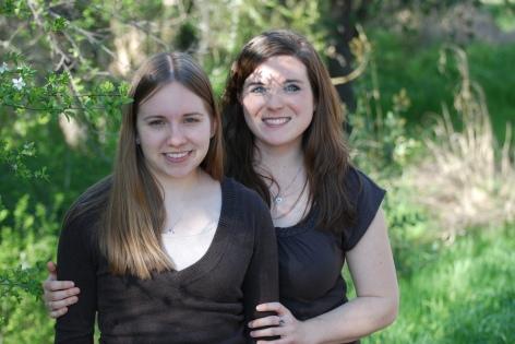 Kristin and Lesa
