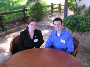 Stuart and me at Ronald Reagan's Ranch in Santa Barbara, CA