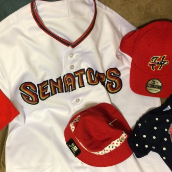 Our new Senators gear!