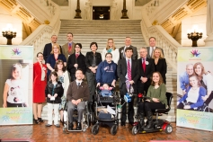 Group photo of those with a rare disease