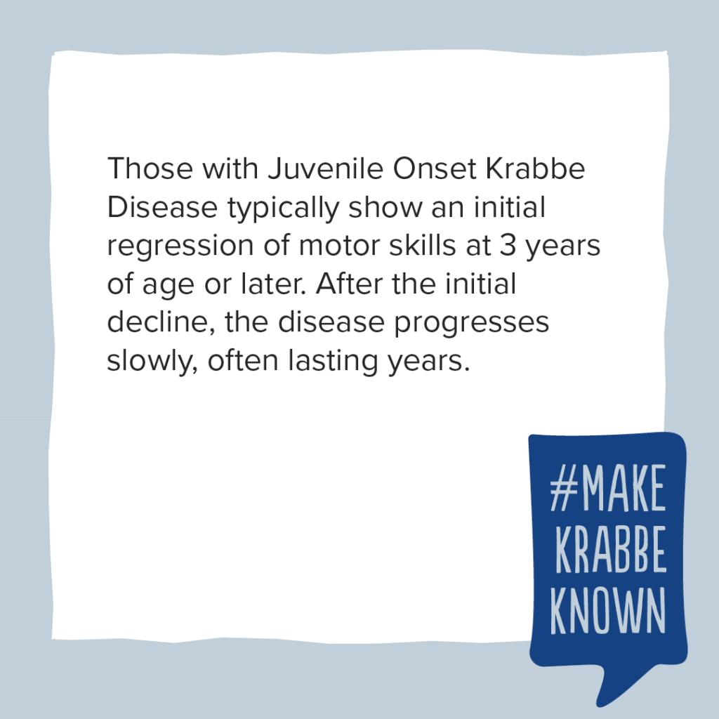 Krabbe Awareness - 13