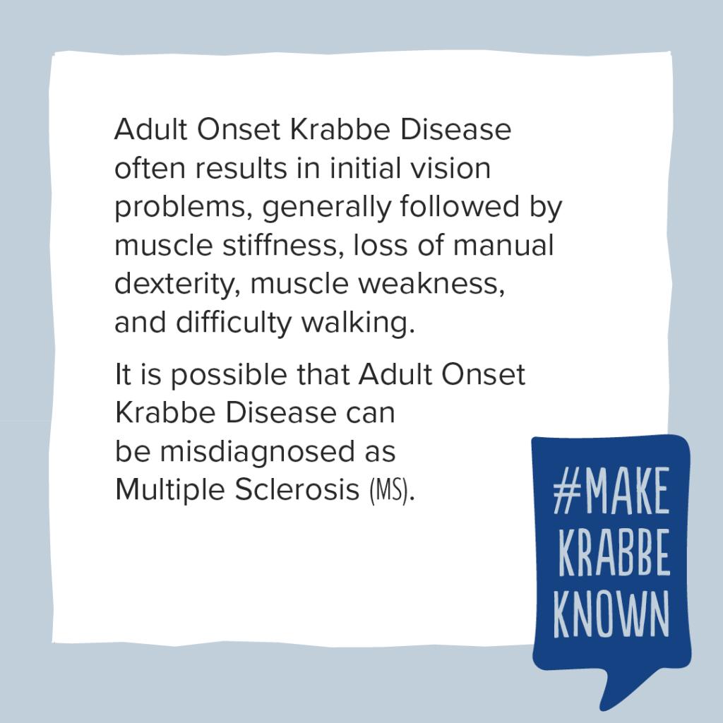 Krabbe Awareness - 14