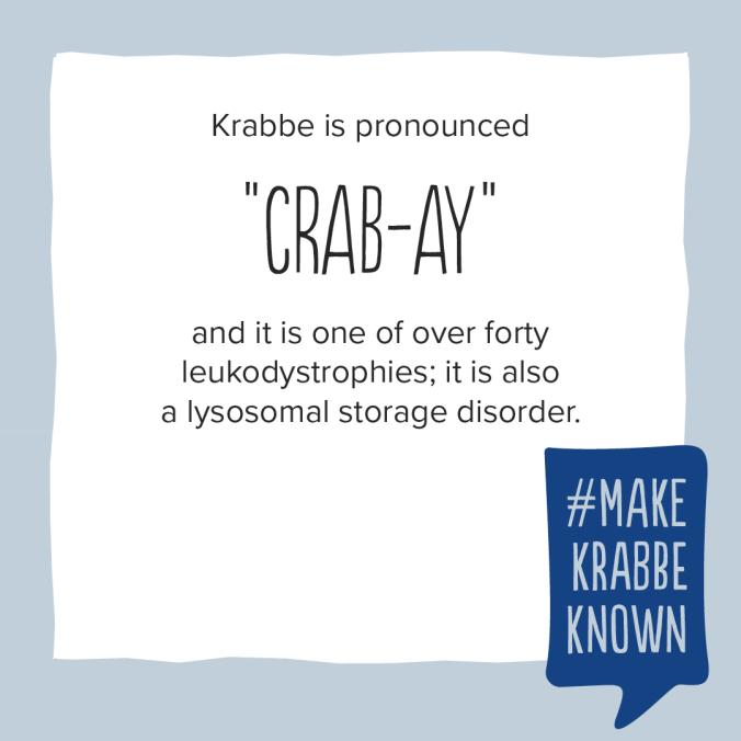 Krabbe Awareness - 2