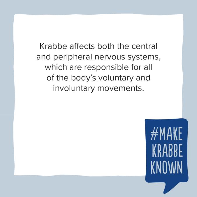 Krabbe Awareness - 4